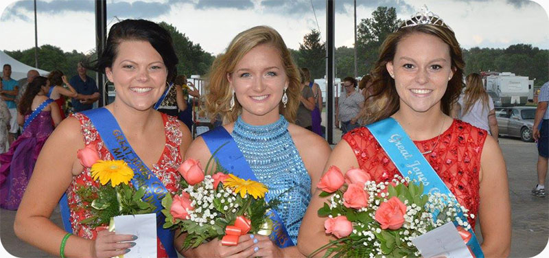 2017 Fair Queen, Princess, and Miss Congeniality